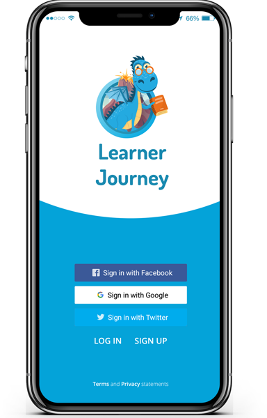 new learner journey app